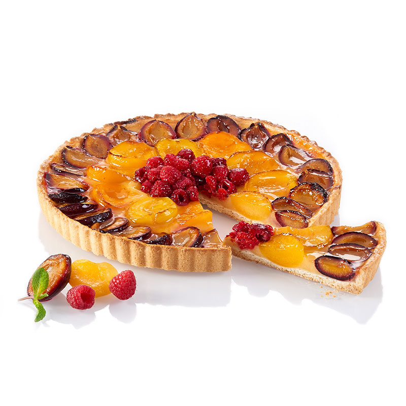 "tarte ""rosace de fruits"""