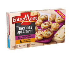Entremont Tartines Apéritives x 12