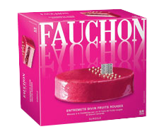 Fauchon, entremets divin fruits rouges