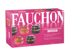 Fauchon, mini-burgers canards