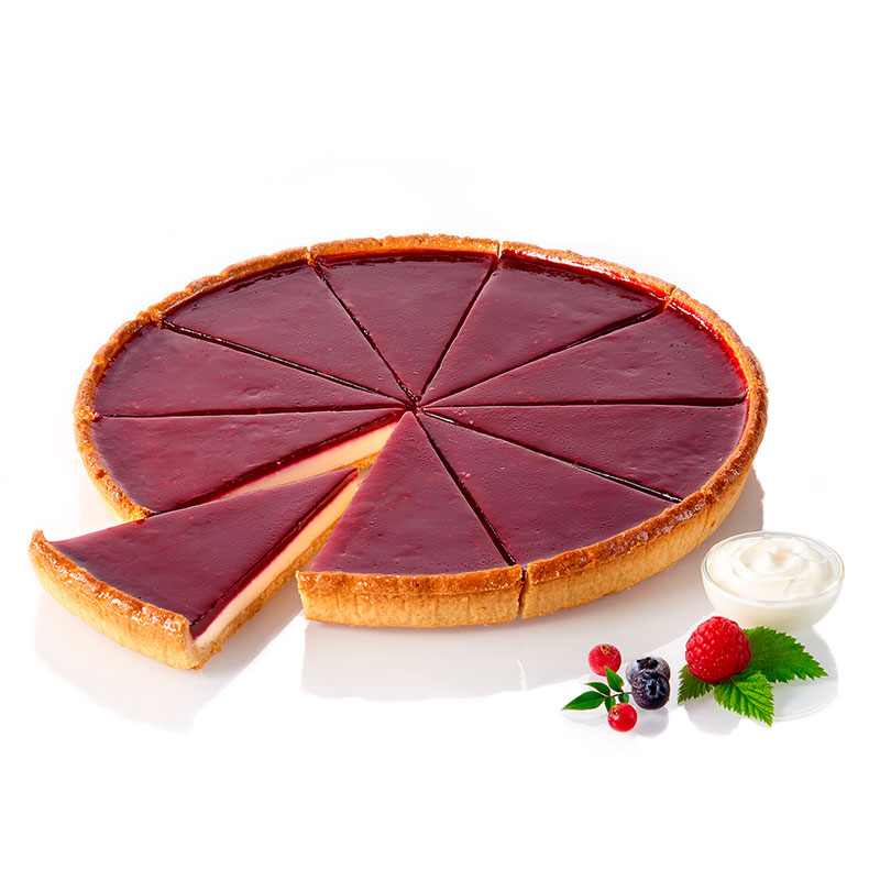Tarte Façon Cheesecake aux Fruits Rouges